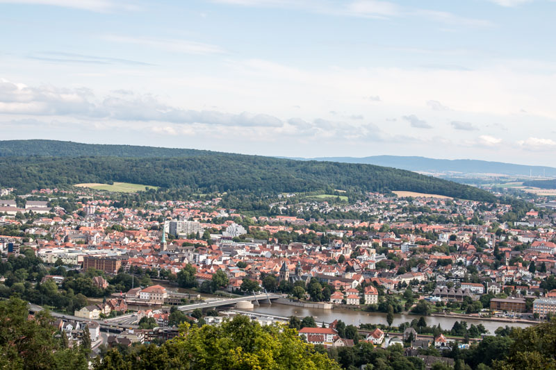 Hameln Klüt Panorama