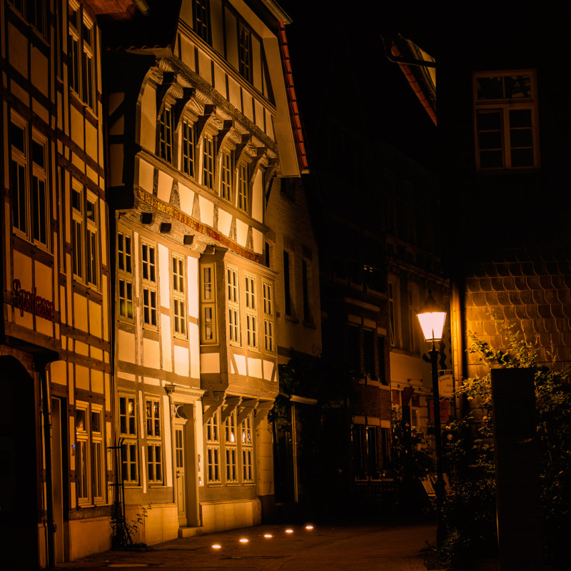 in der Altstadt von Hameln